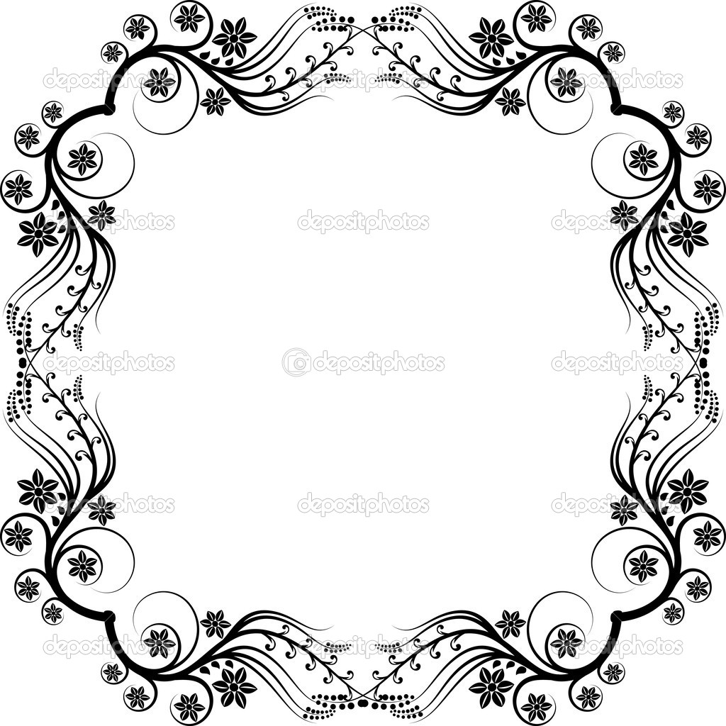 Frame ornaments — Stock Vector © mtmmarek #8732298