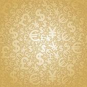 Pozadí měnové zlato