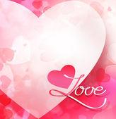 szerelem  szívét. illusztráció.