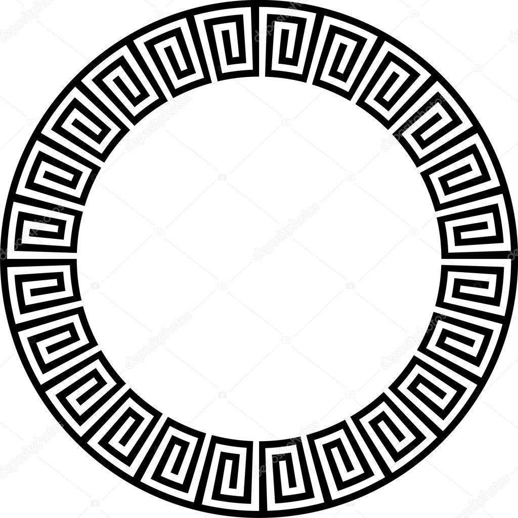 Ancient circular design