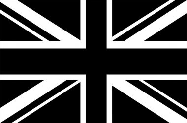 Black & White Union Jack