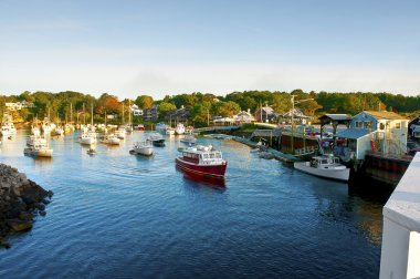Perkins Cove Harbor, Ogunquit, Maine