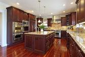 kuchyně s třešňového dřeva truhlářství