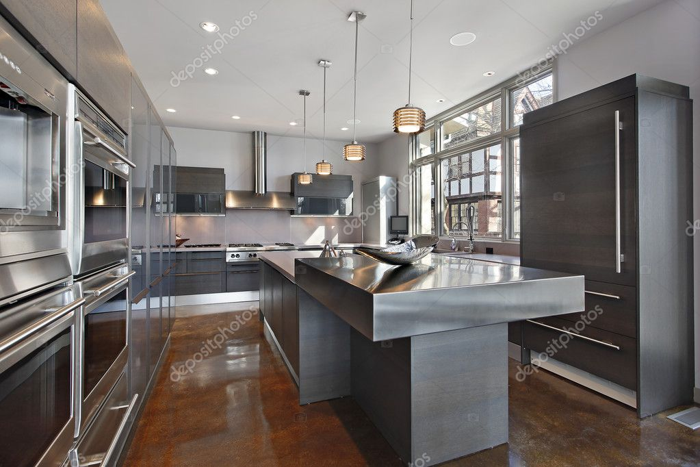Ultra Moderne Keukens : Ultra moderne keuken u stockfoto lmphot