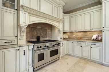 Closeup of luxury kitchen