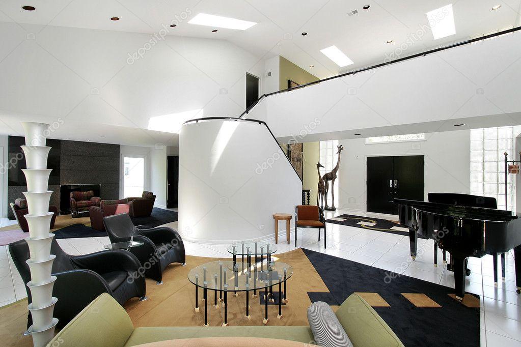 Ultra moderne Wohnzimmer — Stockfoto © lmphot #8682835