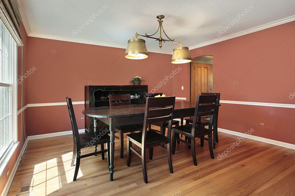 Imágenes: paredes color salmon | comedor con paredes de colores ...