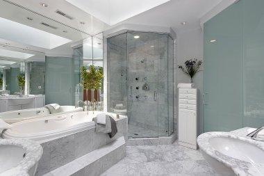 Upscale master bath