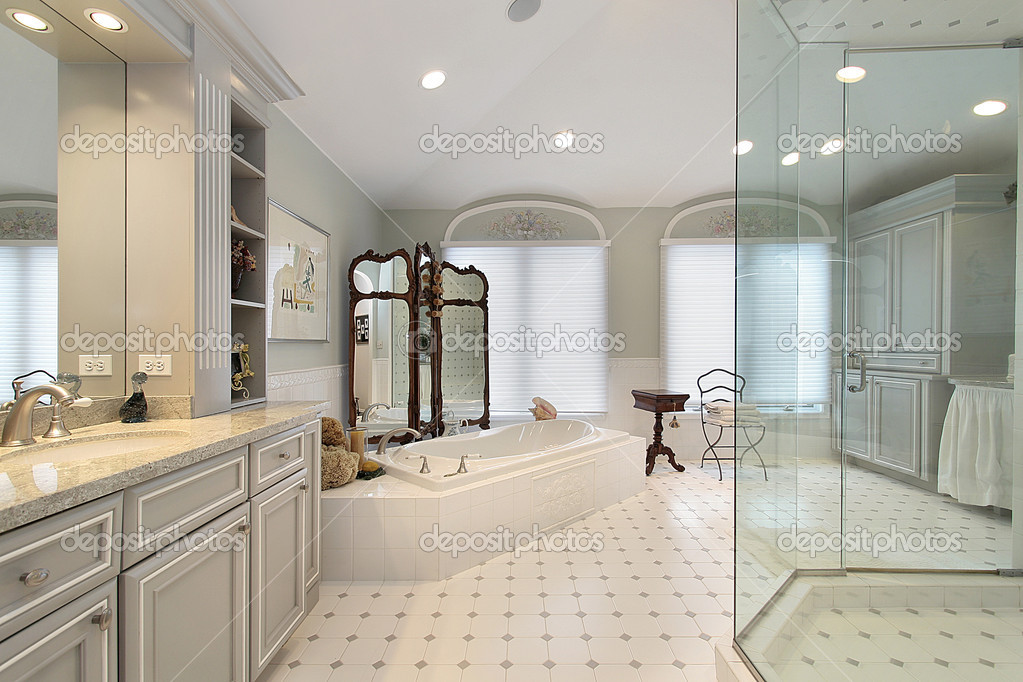 Master Bath In Luxury Home Stock Photo 169 Lmphot 8702561