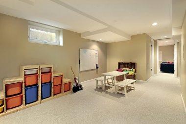 Lower level basement