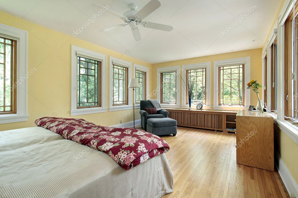 yellow master bedroom bright yellow master bedroom stock photo 169 lmphot 8728531 13892