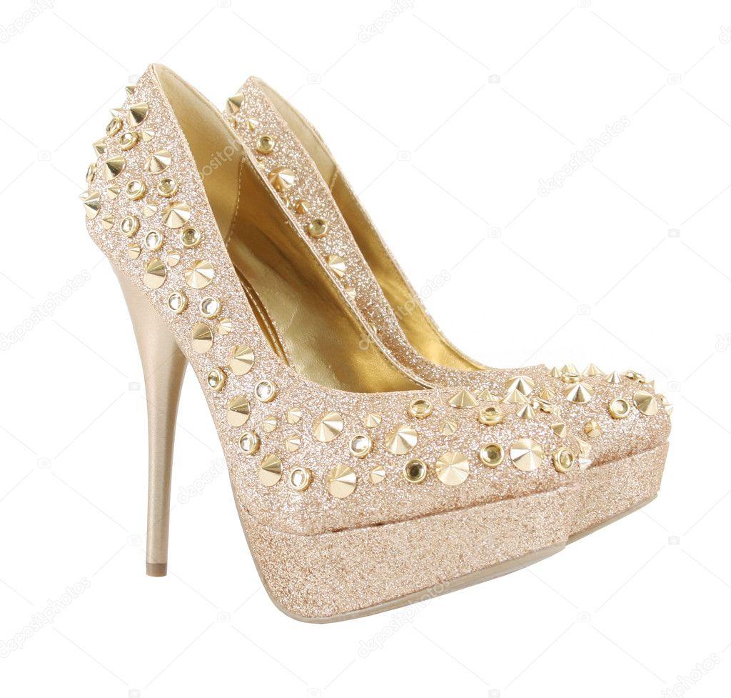 Brillo Claveteados Stock © De Oro Fotos Guzel9133566 — Zapatos TFKc51ulJ3