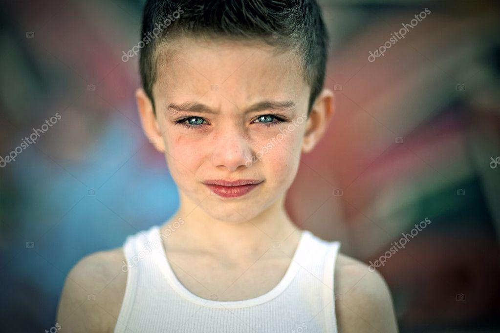 Edgy Boy Against Graffiti Wall Stock Photo Ericro 10362068