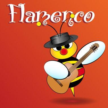 Spanish bee - Kid Illustration