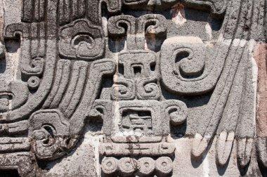 Glyph in Xochicalco (Mexico)