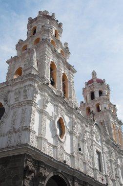 Jesuit church of La Compañia, Puebla (Mexico)