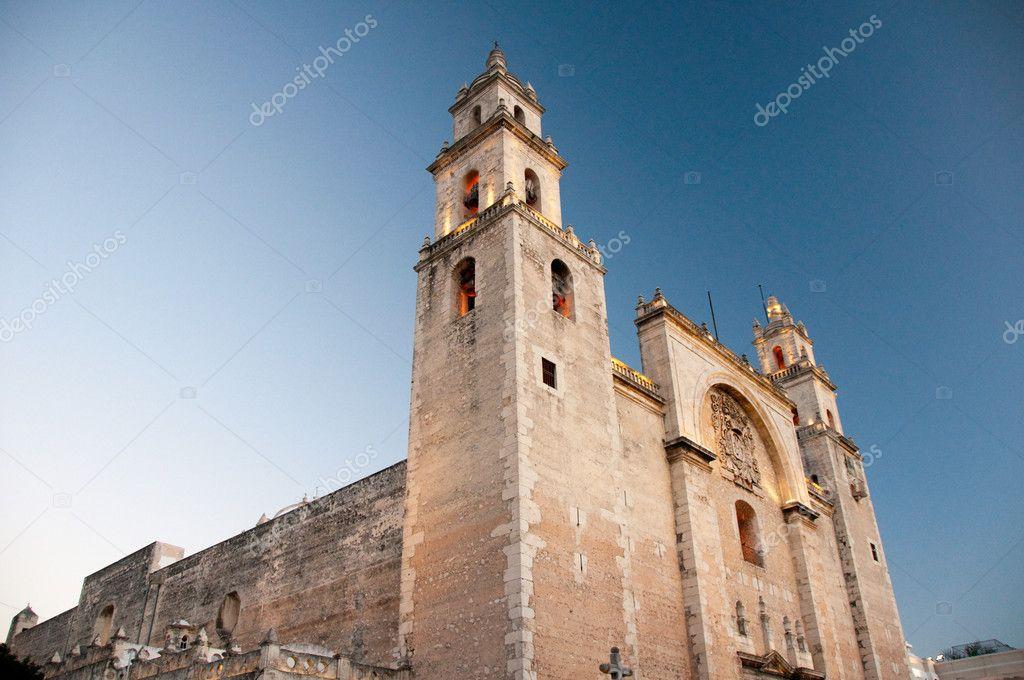 Katedra merida meksyk jukatan zdj cie stockowe for Construccion de piscinas merida yucatan