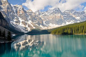 Fotografie Moraine Lake, Rocky Mountains, Kanada