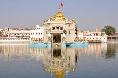 Durgiana Mandir - Amritsar, Punjab (India) stock vector