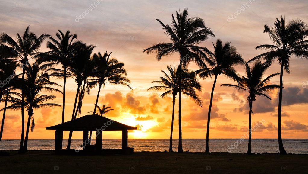 Sunrise at Kauai, Hawaii