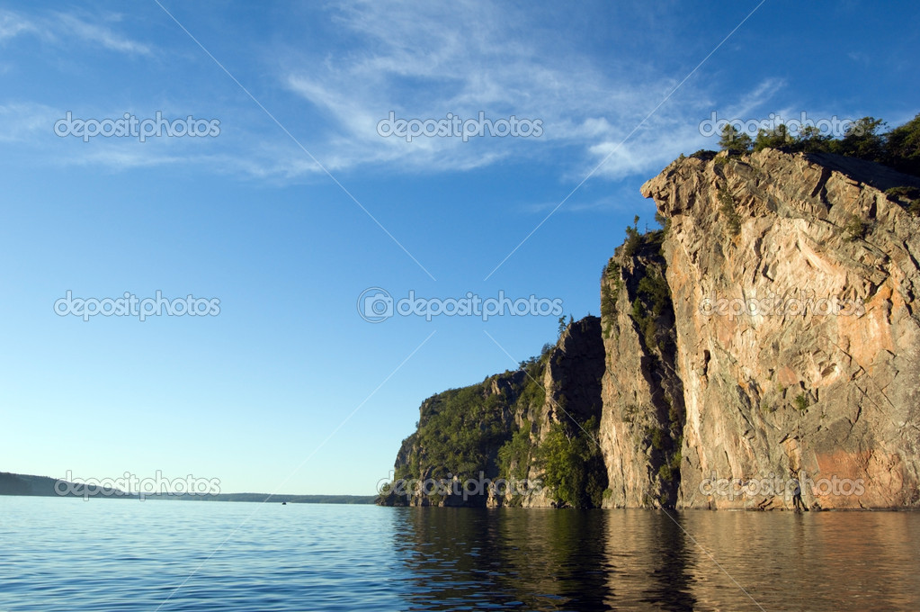High cliff
