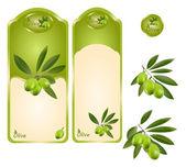 Fotografia etichetta verde oliva