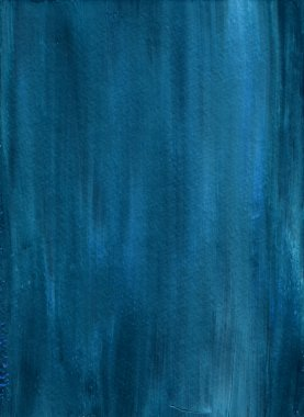 Deep Blue Painted Background