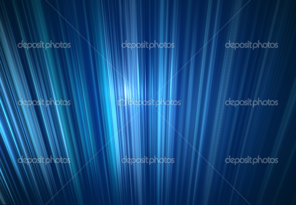Abstract Blue Light Ray Background