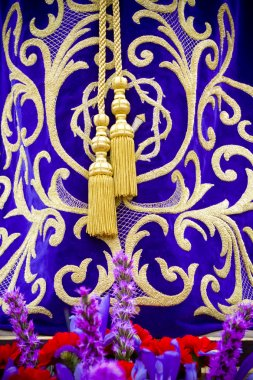 Procession of the christ of medinaceli,details