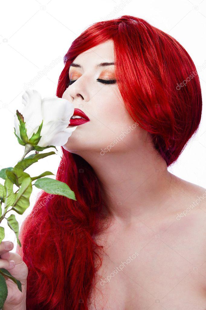1600x1200 woman red hair - photo #36