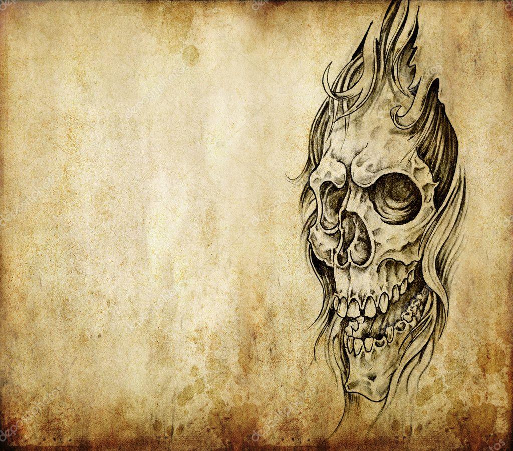 Tattoo Stock Photos: Stock Photo © Outsiderzone #8662059