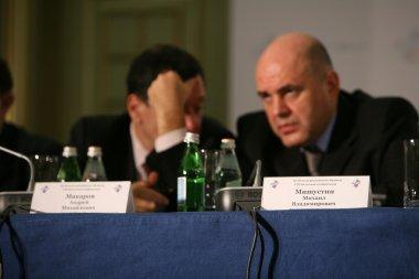 Andrey Makarov and Mikhail Mishustin
