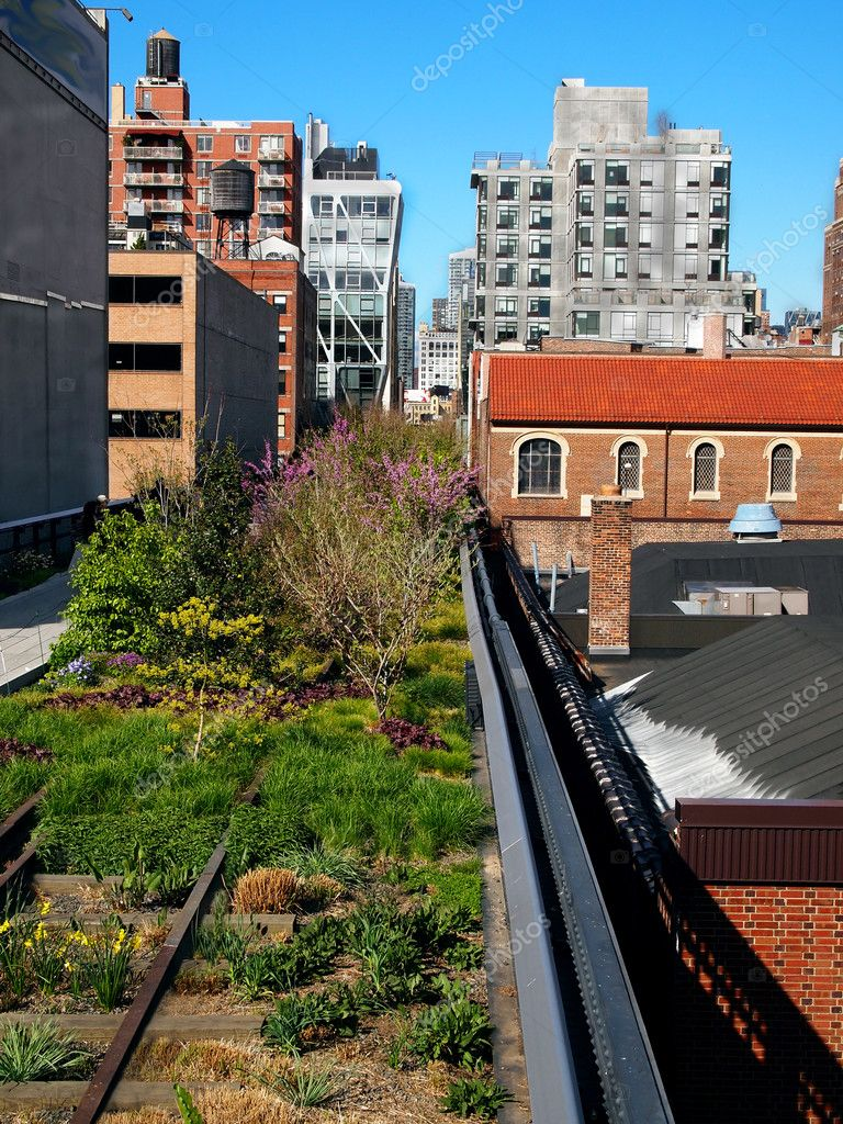 The High Line Park in New York City