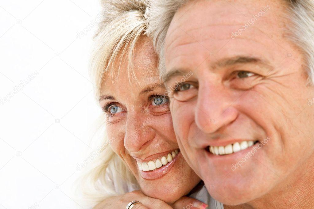 Happy romantic couple