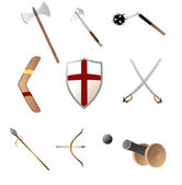 Photo Medival and primitave weapons