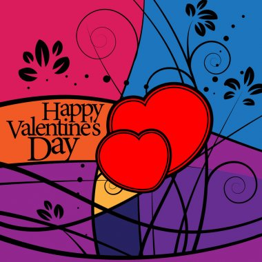 Heart Valentine's day or Wedding. vector eps 10 clip art vector