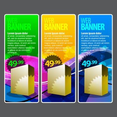 Special Offer Banner Set Vector