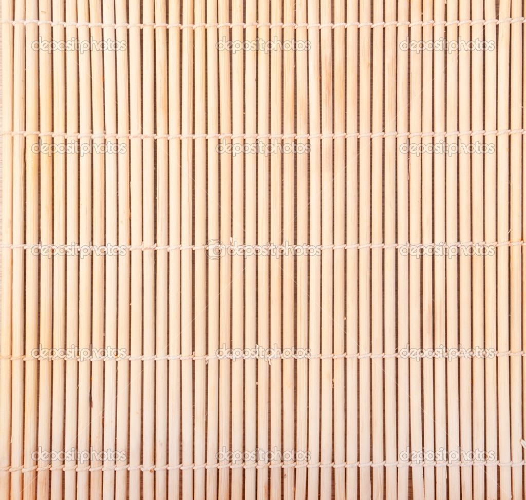 Bambus Matten Hintergrund Stockfoto C Zush 8962009