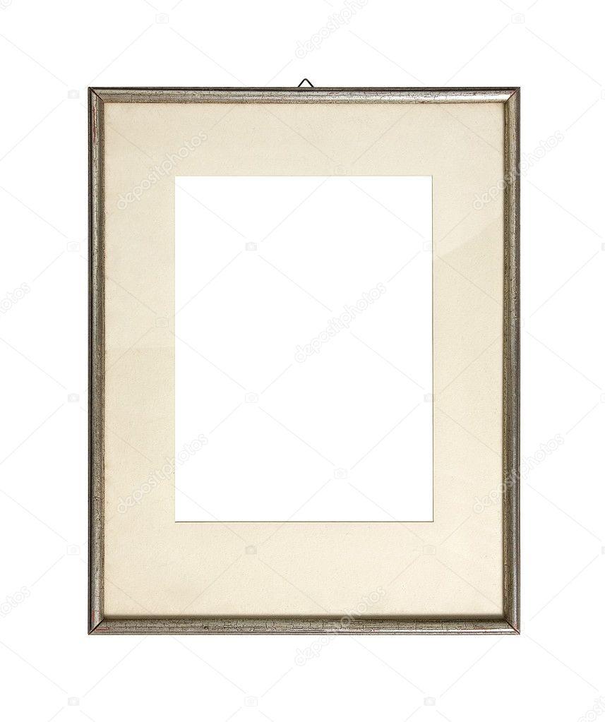 marco plata vieja — Fotos de Stock © jbk-photography #8797412