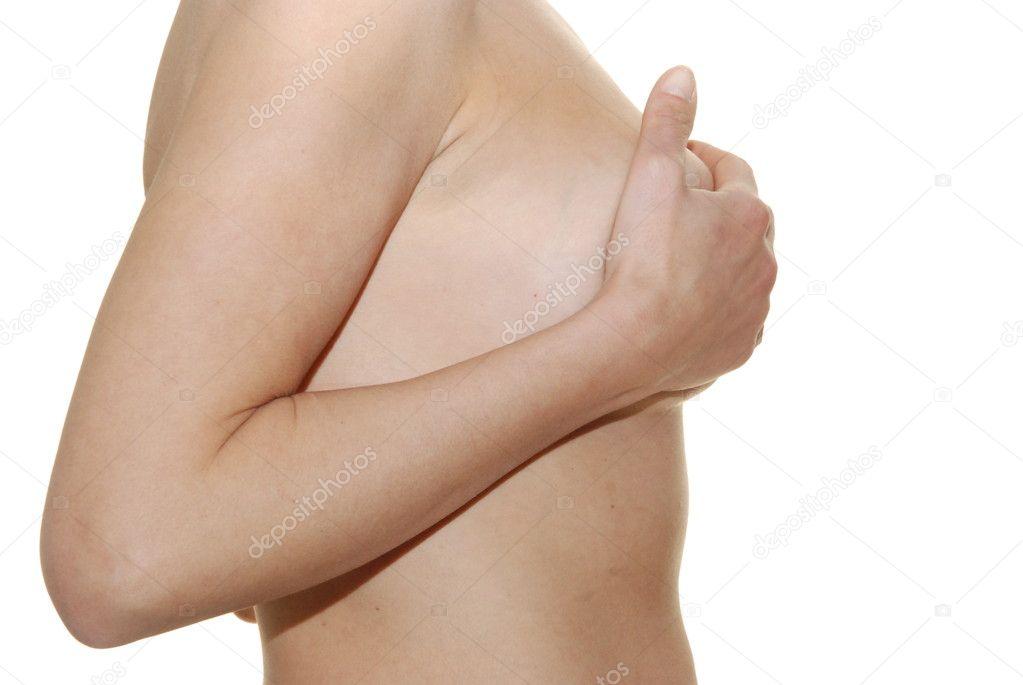 weibliche brust — Stockfoto © bianciardi #10209738
