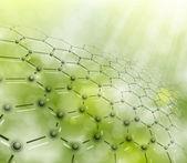 Fotografie Molecular background