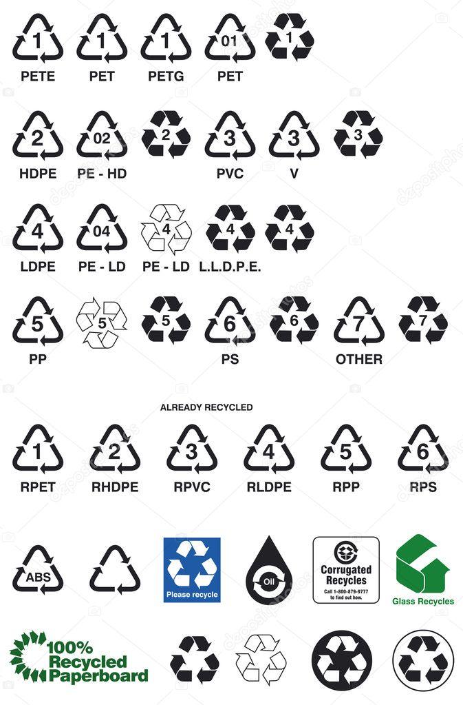 Recyclen Stockvector Lukaves 8841826