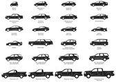 Autos-silhouette