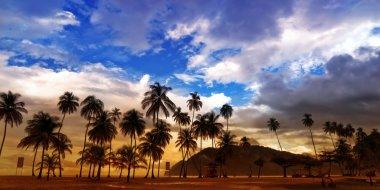 Maracas Beach - panorama