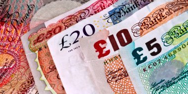 English - British banknotes - Currency