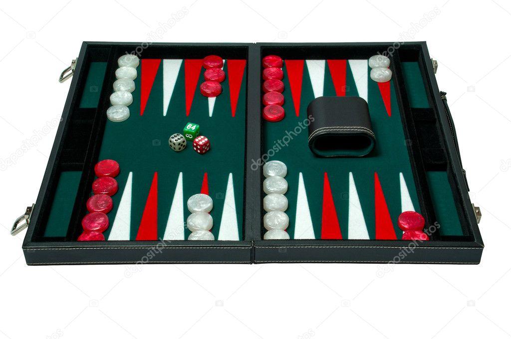 Juego De Mesa Backgammon Foto De Stock C Altinosmanaj 8955078