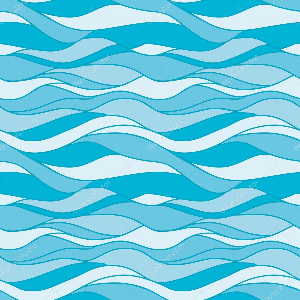 Vector: seamless water pattern | Seamless pattern water ...  Ocean Water Pattern