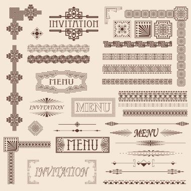 Decorative border elements