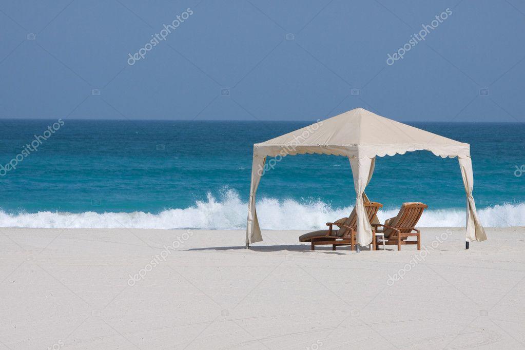 Gazebo on the beach
