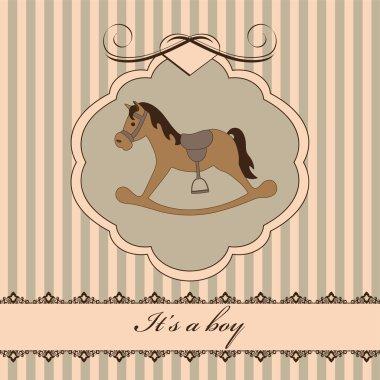 Barn card boy
